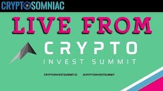 Cryptosomniac Live from CIS👀