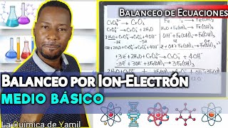 Balanceo de ecuaciones por Ion-Electrón (medio básico)