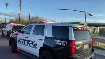 Traffic stop 58th St. and Main Mesa Arizona