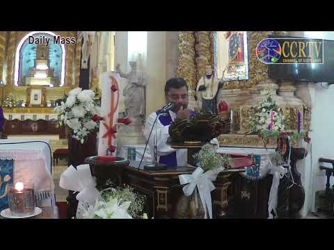 Mass in English 4 Dec Fr. Walter de Sa & Preacher Fr Teo Fernandes ocd  Immaculate Conception Church