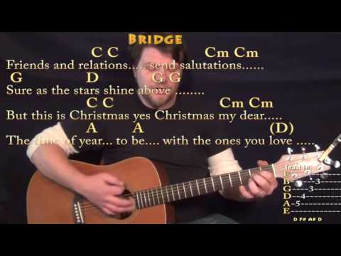 Please Come Home For Christmas (Eagles) Strum Guitar Cover Lesson in G with Chords/Lyrics