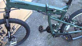 Велосипед 26 Cronus Soldier 1.0 - обзор складного велосипеда на 26 колесах