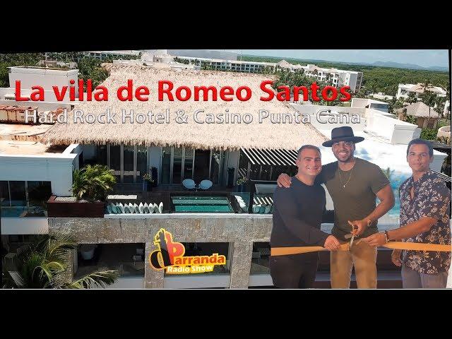 La villa de Romeo Santos en Hard Rock Hotel & Casino de Punta Cana