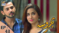 Bharosa - Ep 43 Full HD - 7th July 2017 - ARY Digital Drama