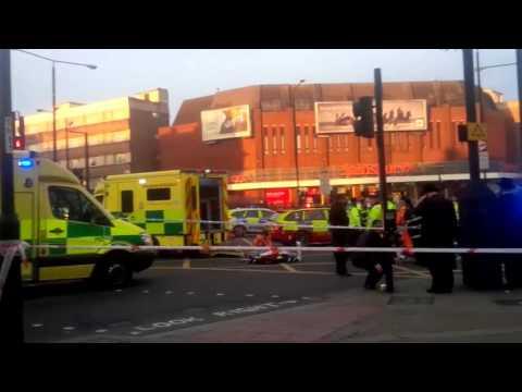 Struck pedestrian in Stamford Hill (Media Resource Group)