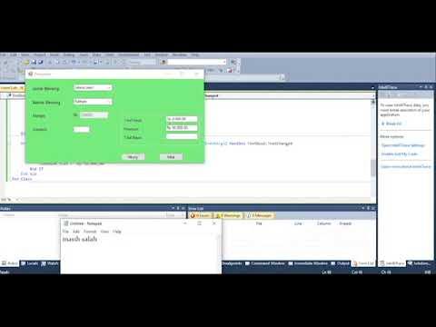 Cara Menggunakan C++ Di Visual Studio 2010
