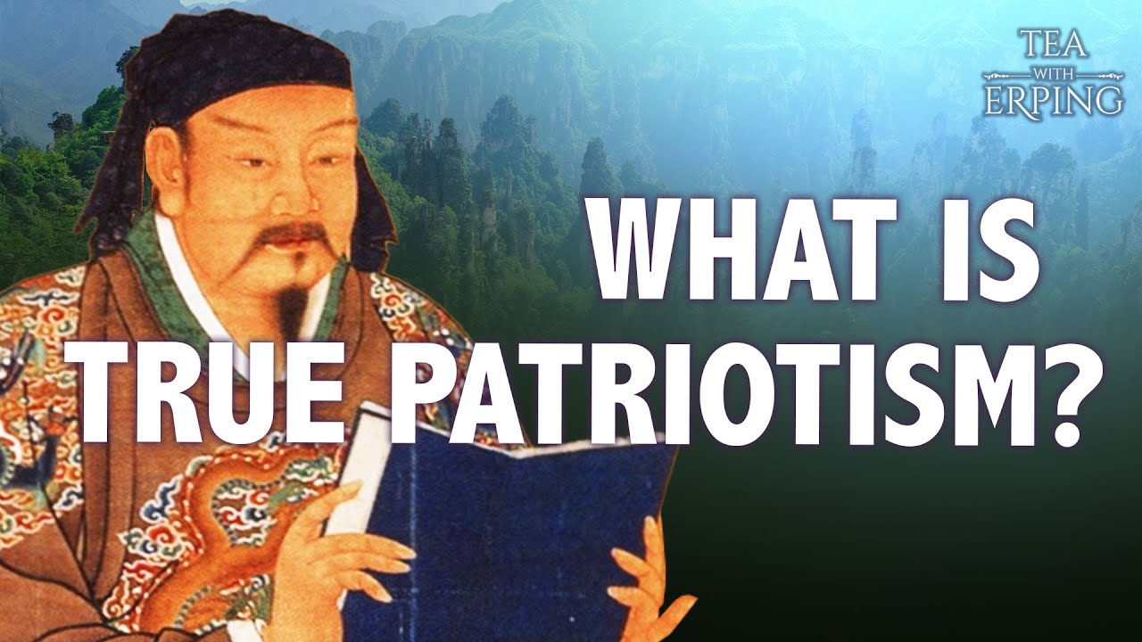 How Patriotism Differs in China Today and its Ancient Past