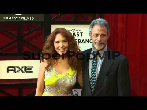 Amy Yasbeck, Michael Plonsker at Comedy Central Roast Of ...