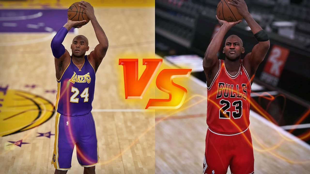 low priced 4c28e f58d4 Kobe Bryant vs Michael Jordan -  3PT Shot Duel  - YouTube