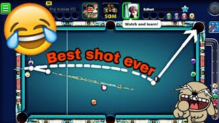 8 Ball Pool - Best shot ever by my opponent 😂/ Indirect highlights in berlin platz