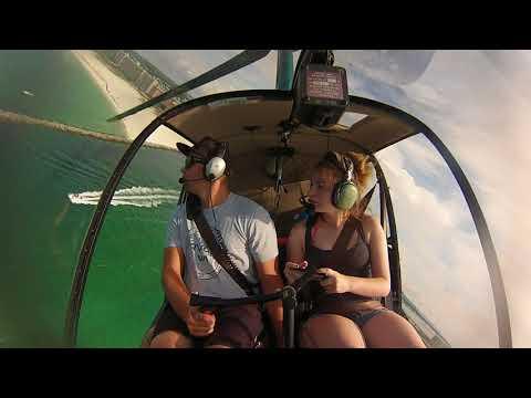 Summertime flying in Gulf shores