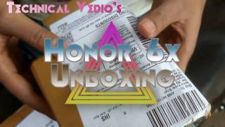 honor 6x from amazon in india unboxing in hindi