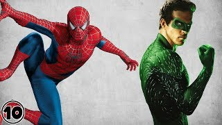 Top 10 Superheroes Who Weren't Born With Their Powers