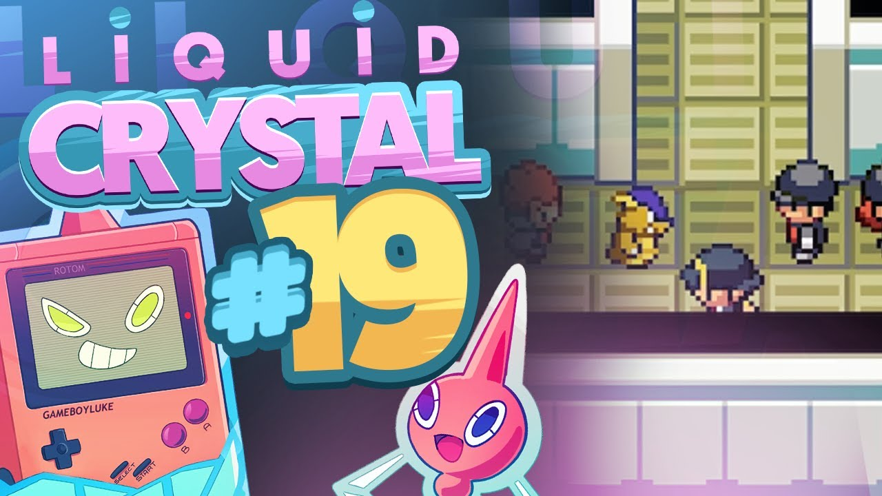 Pokemon liquid crystal how to get kanto starters