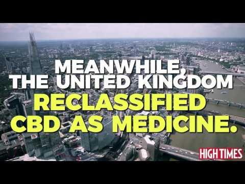 DEA vs. the UK: Is CBD Medicine?