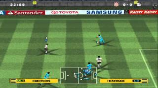 Pro Evolution Soccer 2013 (PES2013) [Narração Silvio Luiz] on PCSX2 1.0 - Playstation 2 Emulator