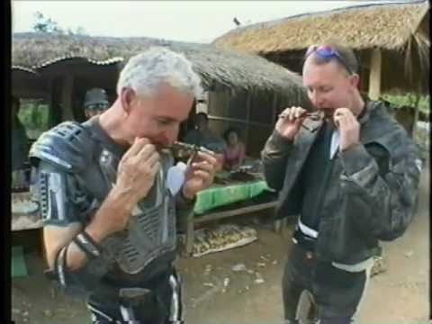 Laos Lost City Motorcycle Tour - TV Show about an ASIAN MOTORCYCLE ADVENTURES tour.