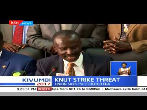 KNUT issues seven-day strike notice demanding reinstatement of annual teachers pay rise