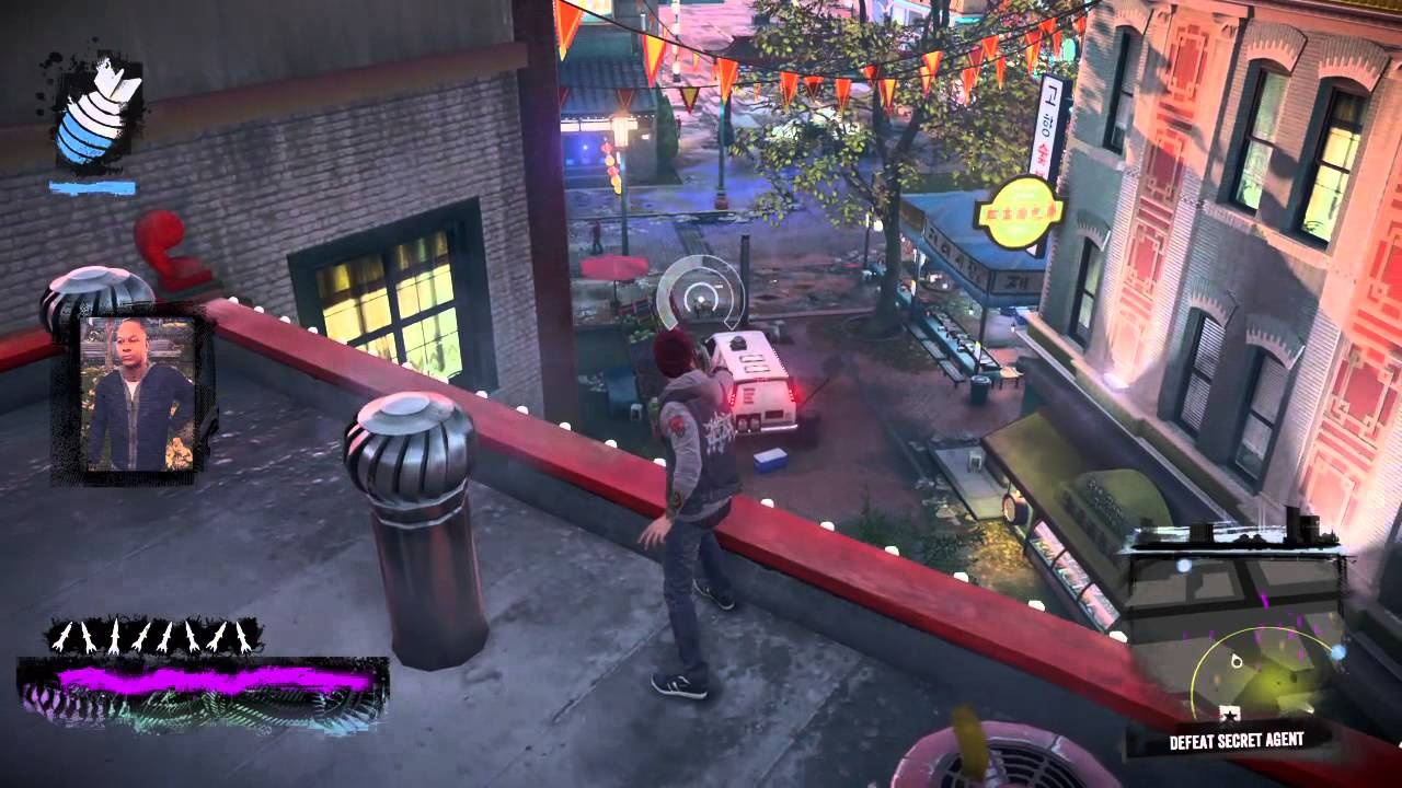 how to catch secret agents in infamous second son