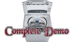 Demo of LG 6.2 kg Fully Automatic Top Load Washing Machine [ Model no T7269NDDL ]