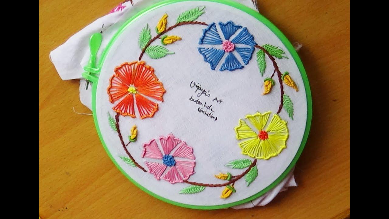 22 Amazing Embroidery Designs Youtube | Makaroka.com