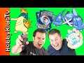 Pokemon Trading Card Game! HobbyDad vs HobbyGuy with Fire and Electric Decks HobbyKidsTV