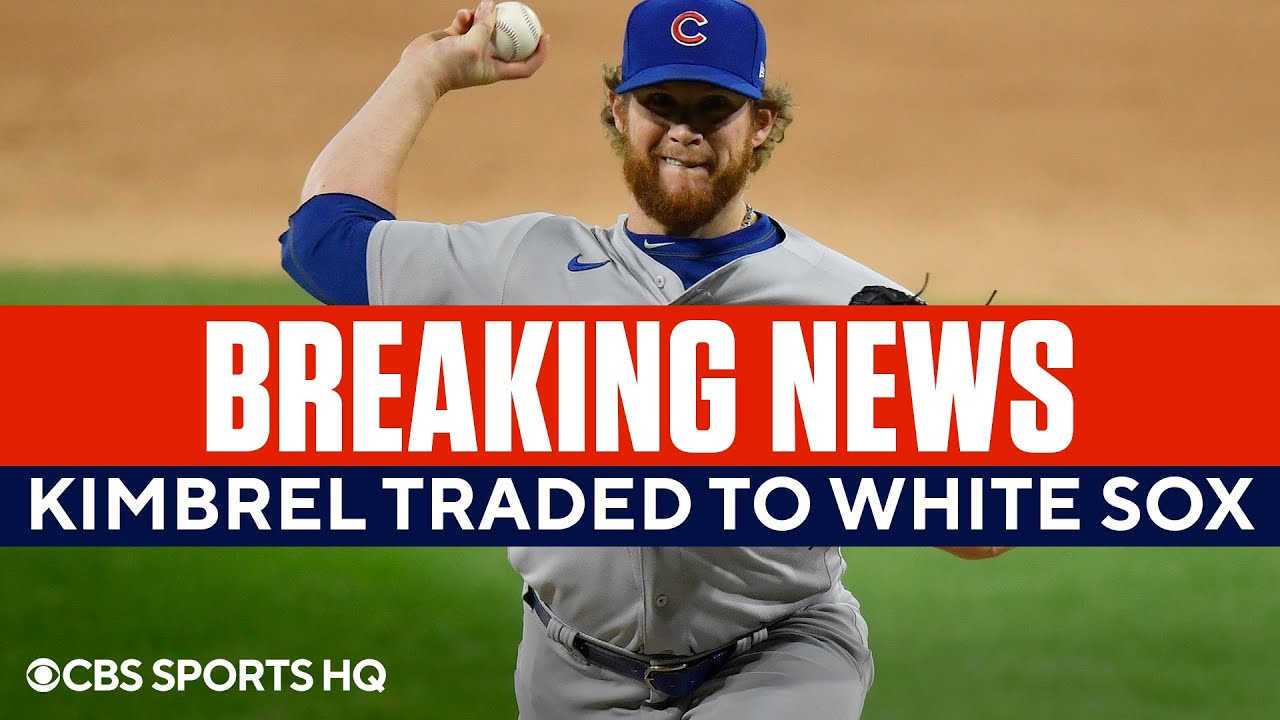 MLB Trade Deadline: Cubs Sending Closer Craig Kimbrel To White ...