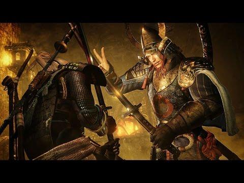 Nioh (PS4) - Tachibana Muneshige Boss Fight Walkthrough Fourth Boss