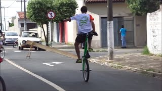 1º Encontro de Wheeling Bike Sul Marília SP (Manobras de Bike)