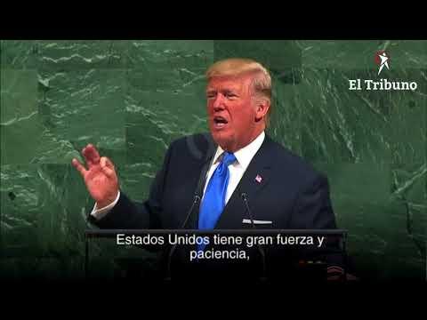 """Trump amenazó en Naciones Unidas con """"destruir totalmente"""" a Corea del Norte"""