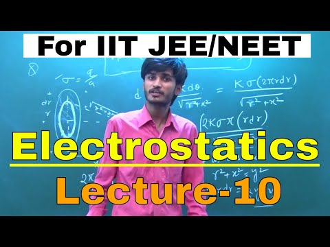 Electrostatics | Lecture-10 | Electric Potential -Very hard problems | IIT JEE/NEET| By-Kartikey Sir
