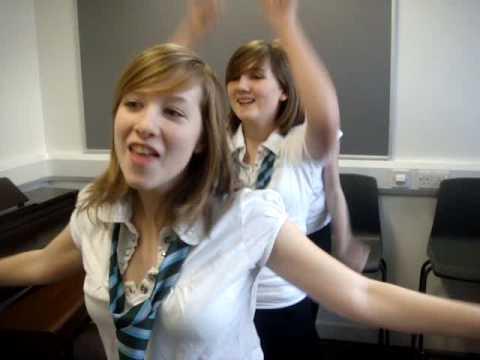 Katrina & Lindsey & Kirsty Dancing
