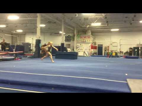 Ruby Swatosh - split leap floor