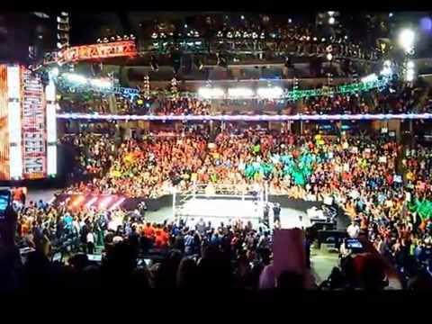 WWE RAW Memphis FedExForum 2015