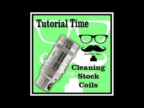 stock coil cleaning pt1