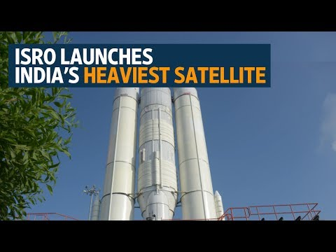 Isro launches India's heaviest satellite GSAT-19