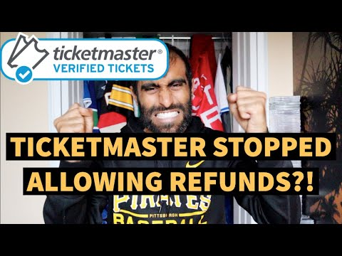TICKETMASTER REFUND POLICY UPDATE FOR CANCELLED AND POSTPONED EVENTS | TICKET REFUND PLAN