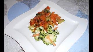 Серпантинорез. Жареные овощи.Быстро.Просто.Вкусно.
