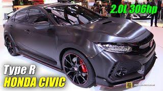 2018 Honda Civic Type R Prototype - Exterior Walkaround - Debut at 2016 Paris Motor Show