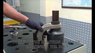 Болтинг-машина SCHOLZ AXIAL(Гидравлический гайковерт (торцевая болтинг-машина) с аксиальный типом упора SCHOLZ модель AXIAL., 2015-08-25T10:44:11.000Z)