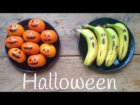 Merienda de Halloween para niños