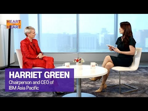 [Heart to Heart 2019] Ep.161 - CEO of IBM Asia Pacific HARRIET GREEN _ Full Episode