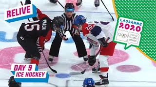 RE-LIVE - Ice Hockey - JAPAN VS CZECH REPUBLIC - Day 9 | Lausanne 2020