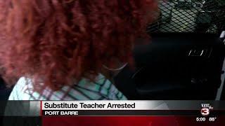 Video Port Barre High sub arrested for having sex with student at school download MP3, 3GP, MP4, WEBM, AVI, FLV Oktober 2018