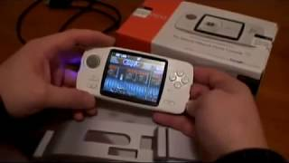 GamePark Holdings CAANOO Handheld updated review and modifications