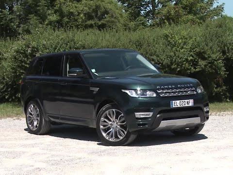 Essai Land Rover Range Rover Sport SD4 HSE (2017)