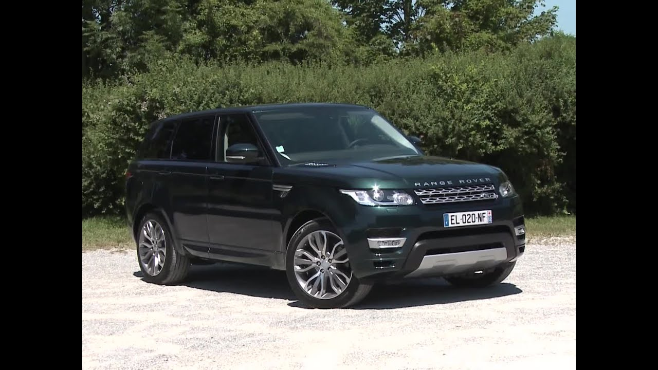 essai land rover range rover sport sd4 hse 2017 youtube. Black Bedroom Furniture Sets. Home Design Ideas