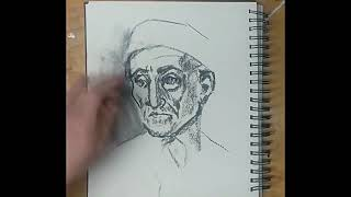 Copy a Master Drawing Using Charcoal TL