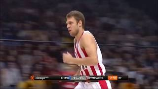 Olympiacos offensive plays against Khimki