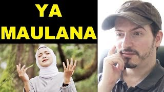 YA MAULANA Sabyan Song Video REACTION REVIEW